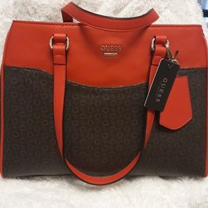 Guess Factory Womens Logo Print Carryall